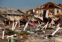 Фото Шторм «Барри» в американском штате Луизиана достиг силы урагана