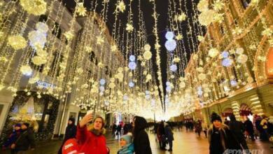 Фото Сколько туристов посетило Москву за новогодние каникулы?