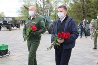 Фото «Сад памяти» в Донецке. Акцию поддержали и в ДНР