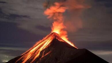 Фото Вулкан Ключевской на Камчатке выбросил пепел на высоту 7 километров