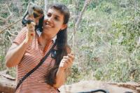 Photo of Маугли по своему желанию. Как француженка с питоном общалась