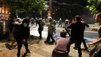 Фото Власти Белграда подсчитывают ущерб от беспорядков