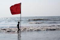 Фото Как понять, что на пляже нельзя купаться?